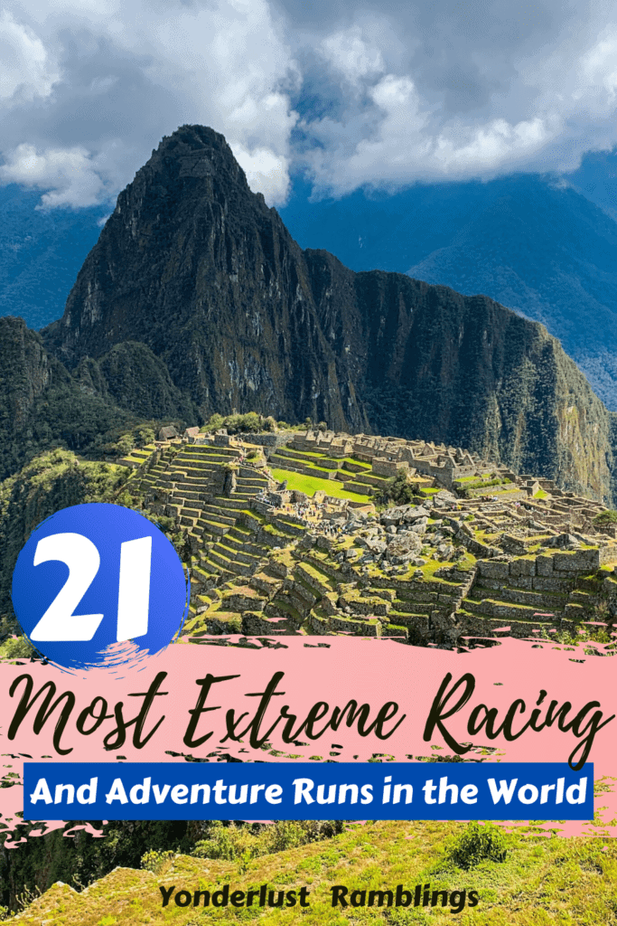 Most extreme racing and adventure running in the world